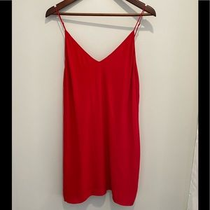 ARITZIA Wilfred Free camisole dress red size small